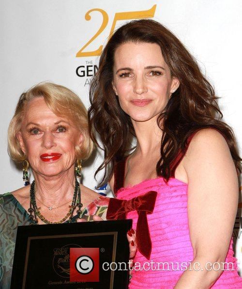 Tippi Hedren and Kristin Davis 3