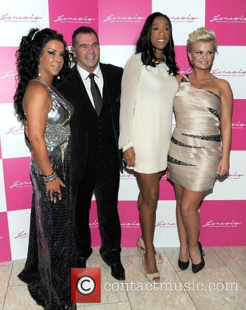 Michelle Clayton, Paddy Doherty, Diane Modahl and Kerry...
