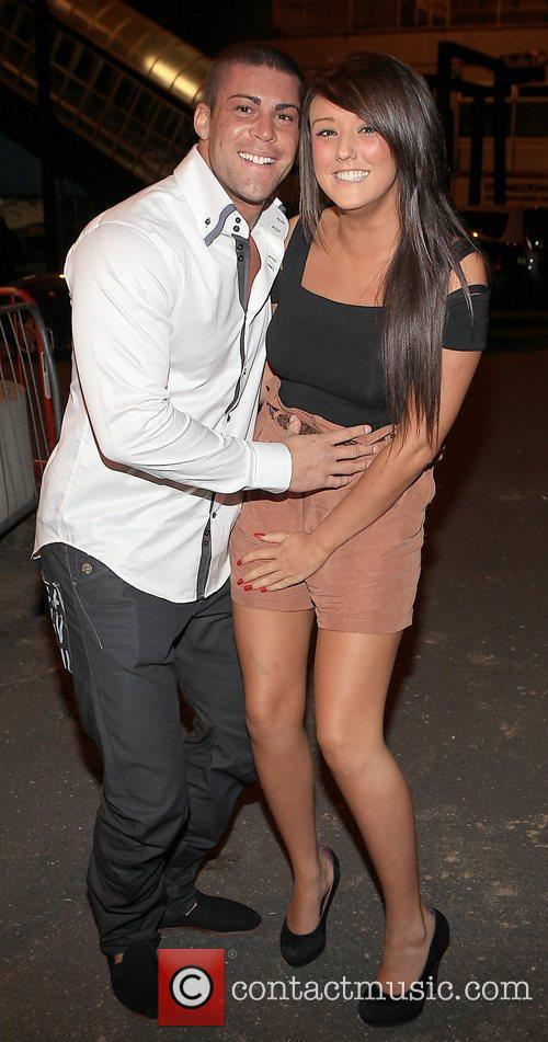 Jay Gardner and Charlotte-Letitia Crosby of MTV UK's...