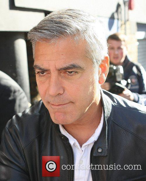 George Clooney and Odeon Leicester Square 9