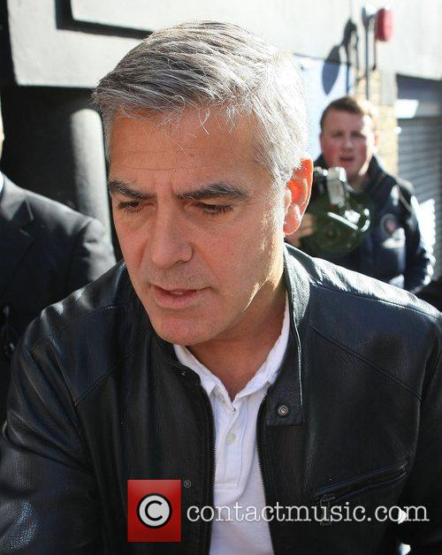 George Clooney and Odeon Leicester Square 7