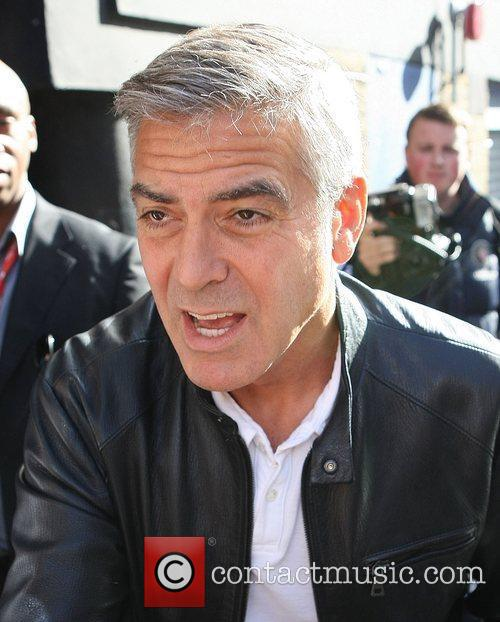 George Clooney and Odeon Leicester Square 4