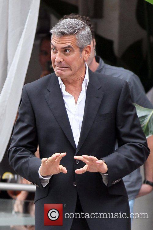 George Clooney Awkward