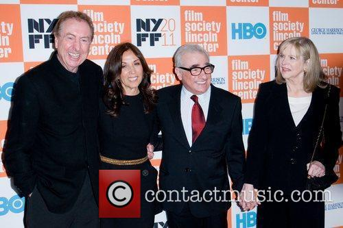 Eric Idle, Martin Scorsese and Olivia Harrison 3