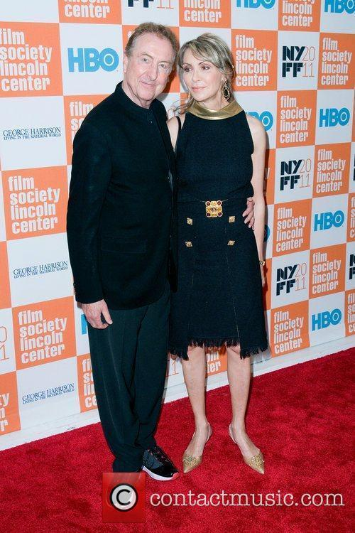 Eric Idle and wife Tania Kosevich  HBO...