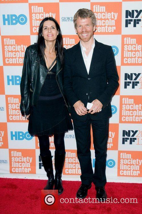 Warren Zanes and wife April March  HBO...