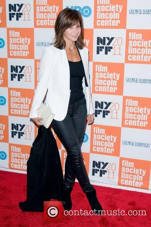 Gina Gershon  HBO documentary screening of 'George...