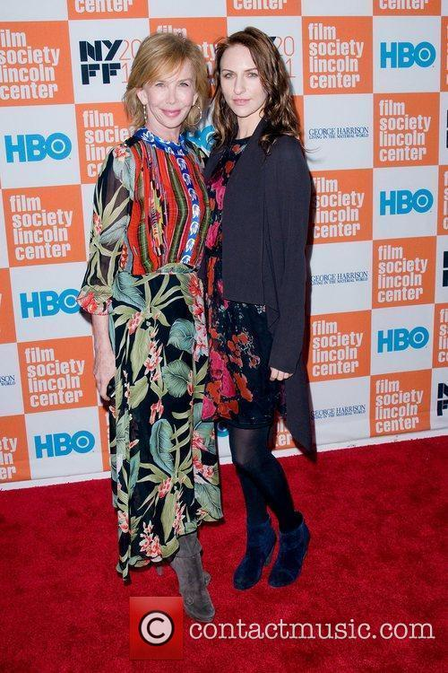 Trudie Styler and daughter Coco Sumner  HBO...