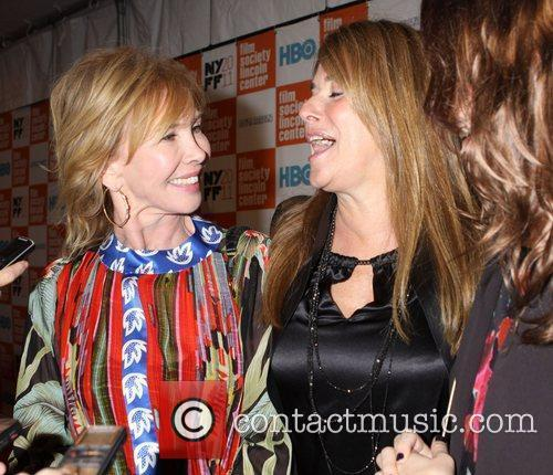 Trudie Styler and Lorraine Bracco  HBO documentary...