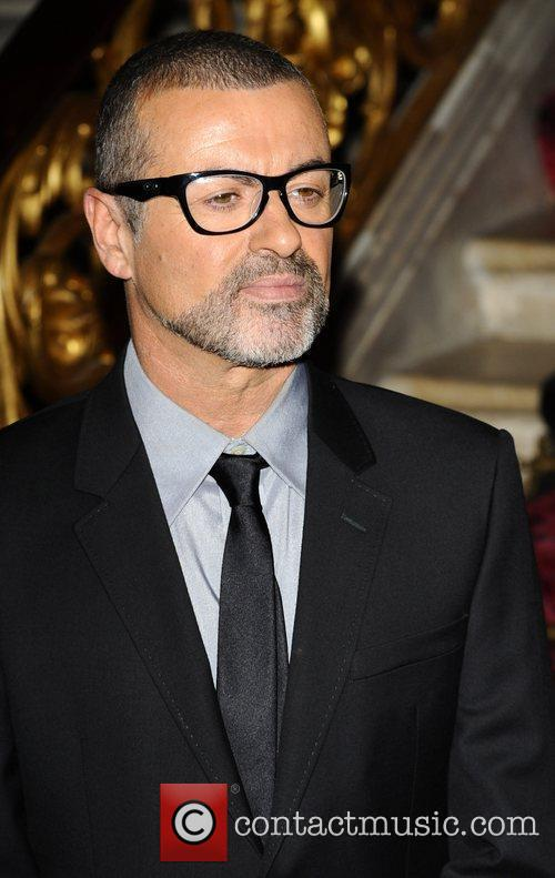 George Michael . attends a press conference at the Royal Opera House to announce details of a new tour