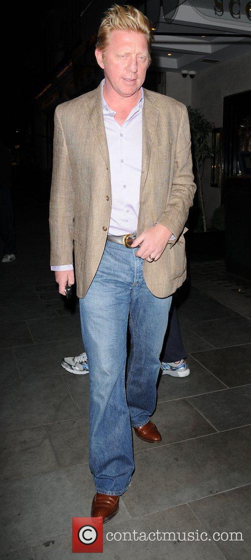 Former World number one tennis champion, Boris Becker,...