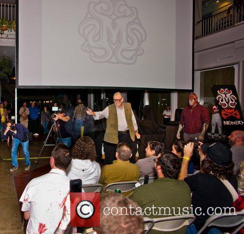 Director George Romero Mondo Mystery Movie IX screening...