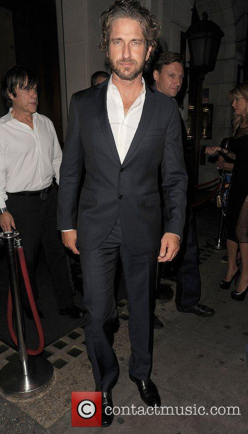 Gerard Butler out and about in Mayfair. London,...
