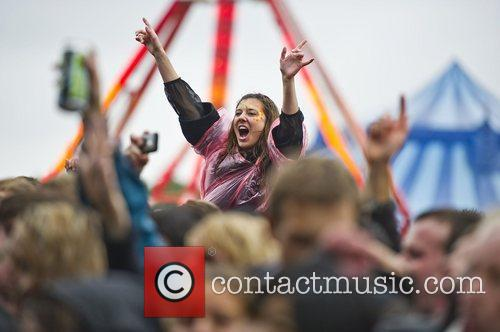 Atmosphere at Get Loaded In The Park at...