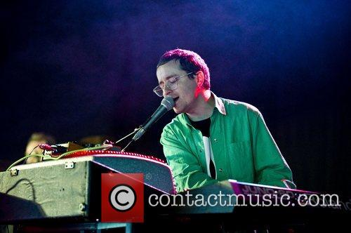 Alexis Taylor of About Group performing at Get...