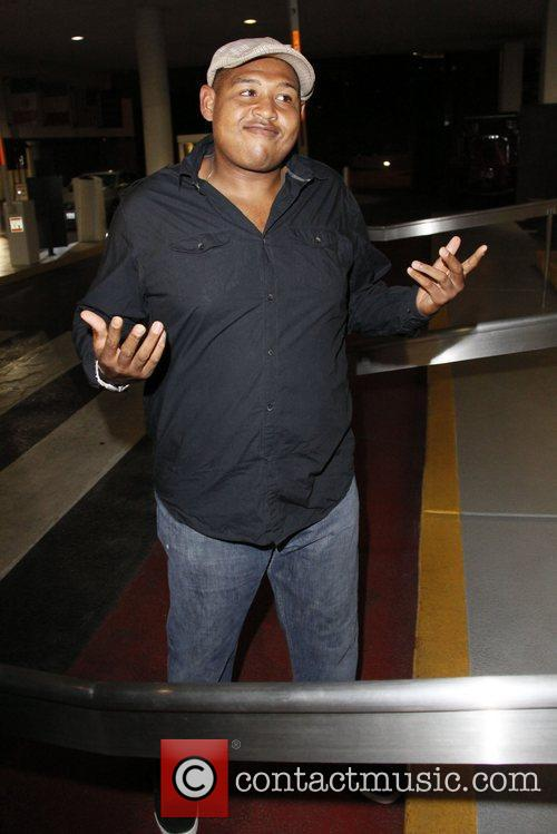 Omar Miller leaves 'Get Lucky for Lupus LA!'...