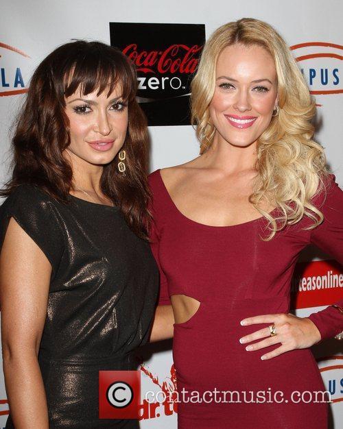 Karina Smirnoff and Peta Murgatroyd 4