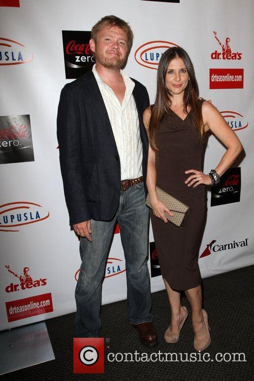 Kellie Martin and Guest Get Lucky for Lupus...