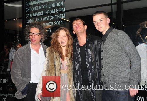 Dexter Fletcher and guests  Dolce & Gabbana...