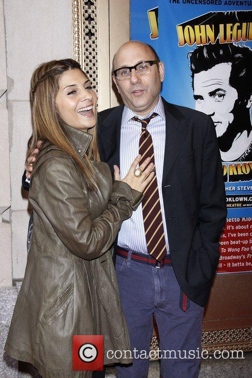 Callie Thorne and Willie Garson 6