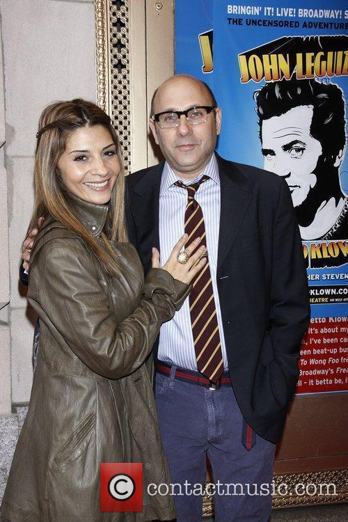 Callie Thorne and Willie Garson 2