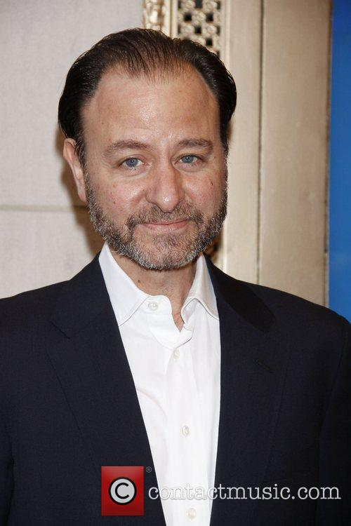 Fisher Stevens Opening Night of the Broadway premiere...