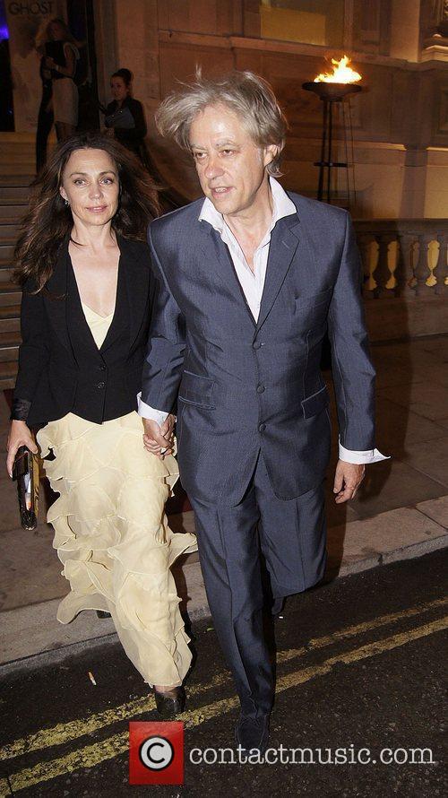 Bob Geldof and Jeanne Marine 1