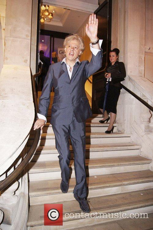 Bob Geldof  Press night for 'Ghost: The...