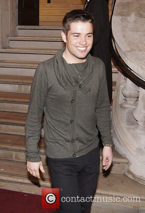 Joe McElderry Press night for 'Ghost: The Musical'...