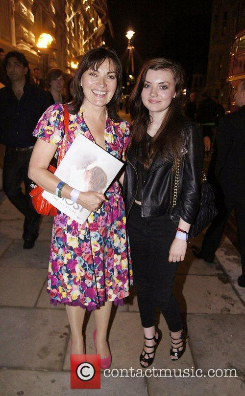 Lorraine Kelly Press night for 'Ghost: The Musical'...