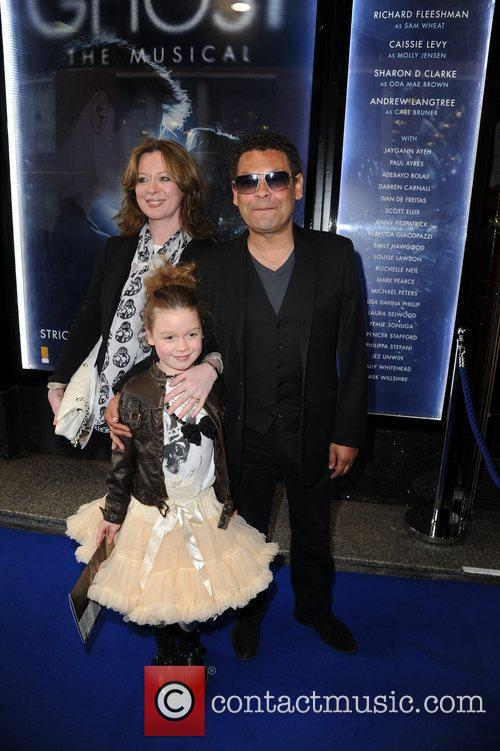 Craig Charles and Family  arrive for the...