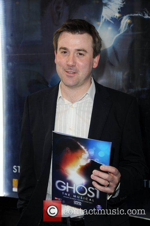 Greame Hawley  arrives for the world premiere...