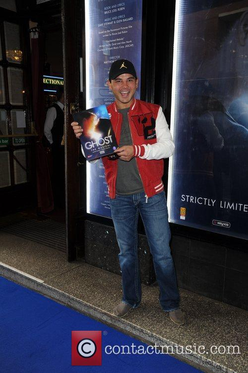 Ryan Thomas  arrives for the world premiere...