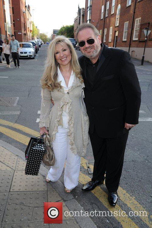 Sue Jenkins and husband  arrive for the...