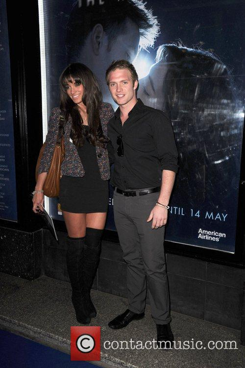 Chris Fountain and Girlfriend 'Ghost' world premiere at...