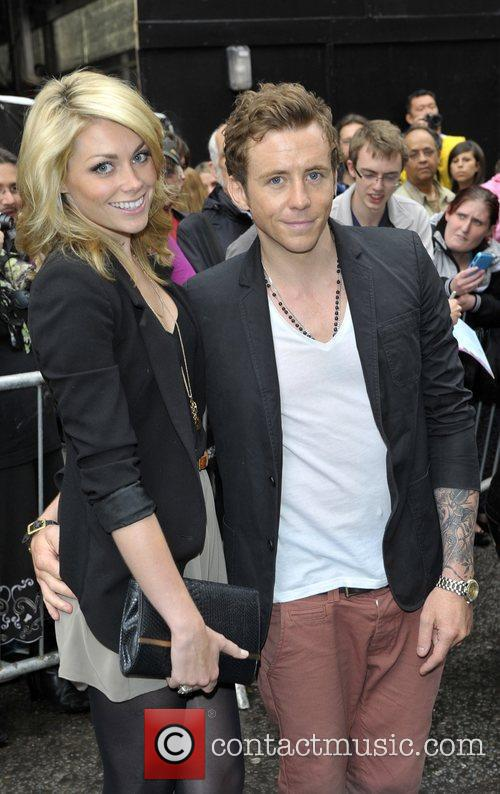 Guest and Danny Jones of McFly press night...
