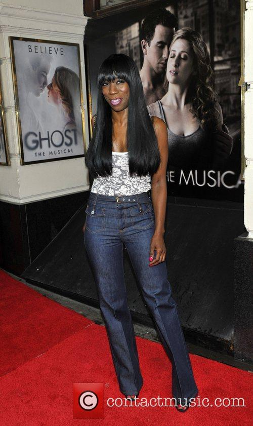 Heather Small press night for 'Ghost: The Musical'...