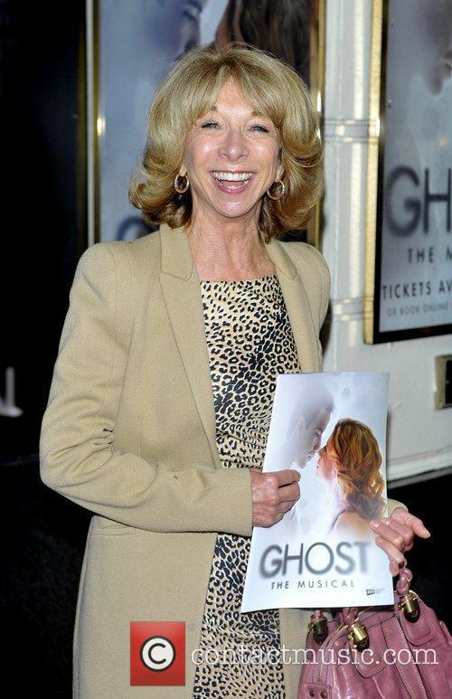 Helen Worth press night for 'Ghost: The Musical'...