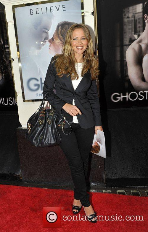 Kimberley Walsh press night for 'Ghost: The Musical'...