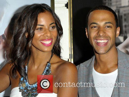 Rochelle Wiseman and Marvin Humes press night for...