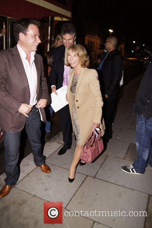 Press night for 'Ghost: The Musical' - afterparty...