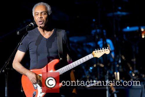 Brazilian musician, Gilberto Gil, performing live at Centro...