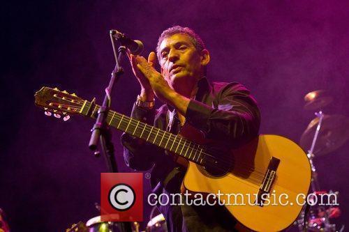 Gipsy Kings performing live at Campo Pequeno Lisbon,...