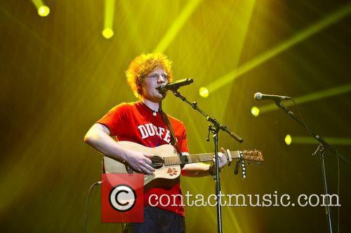Ed Sheeran and Wembley Arena 4