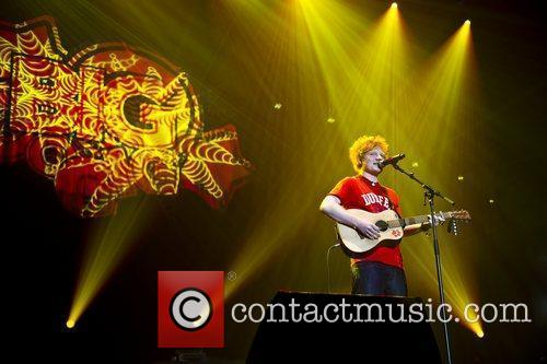 Ed Sheeran and Wembley Arena 7