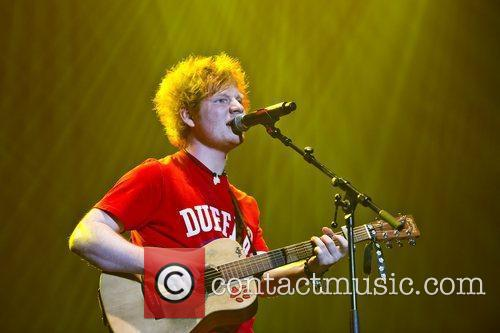 Ed Sheeran and Wembley Arena 5