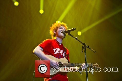 Ed Sheeran and Wembley Arena 3