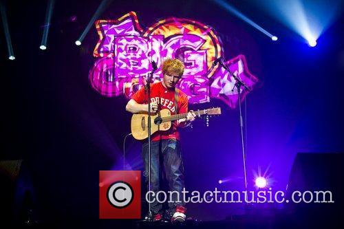 Ed Sheeran and Wembley Arena 1