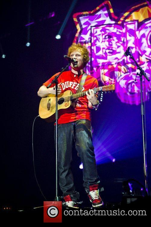 Ed Sheeran and Wembley Arena 6