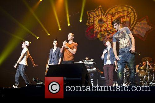 The Wanted and Wembley Arena 9